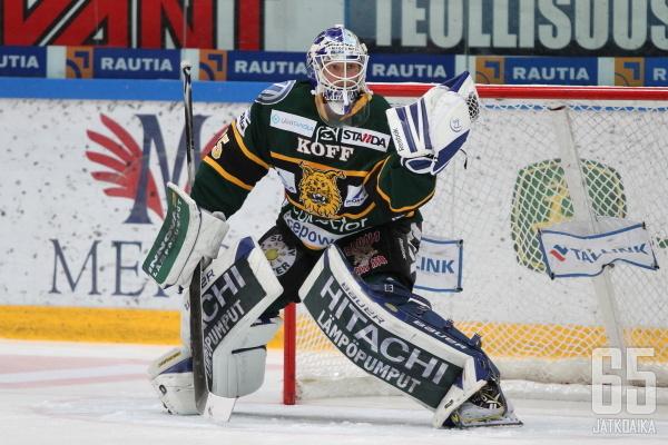 Anders Lindbäck on Ilveksen syyskauden ykköshahmo.