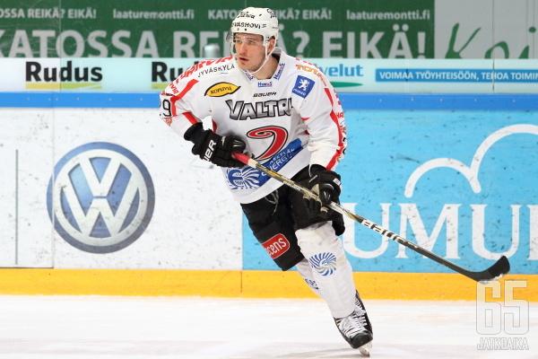 Virtanen pelaa alkavalla kaudella JYPissä.