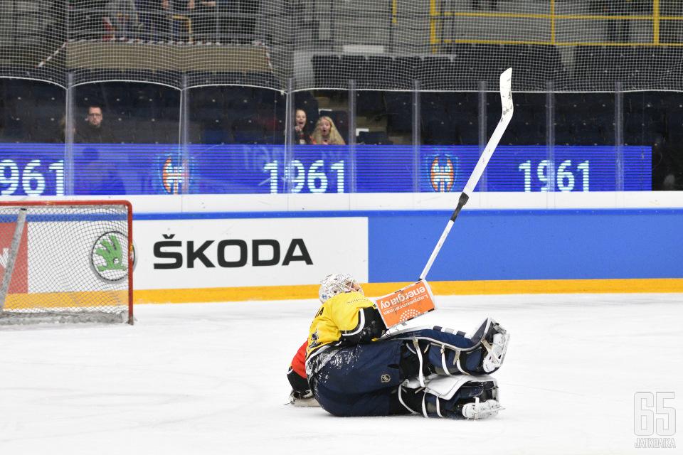SaiPalla ei ole ruotsalaisia vastaan varaa pyllähdyksiin.