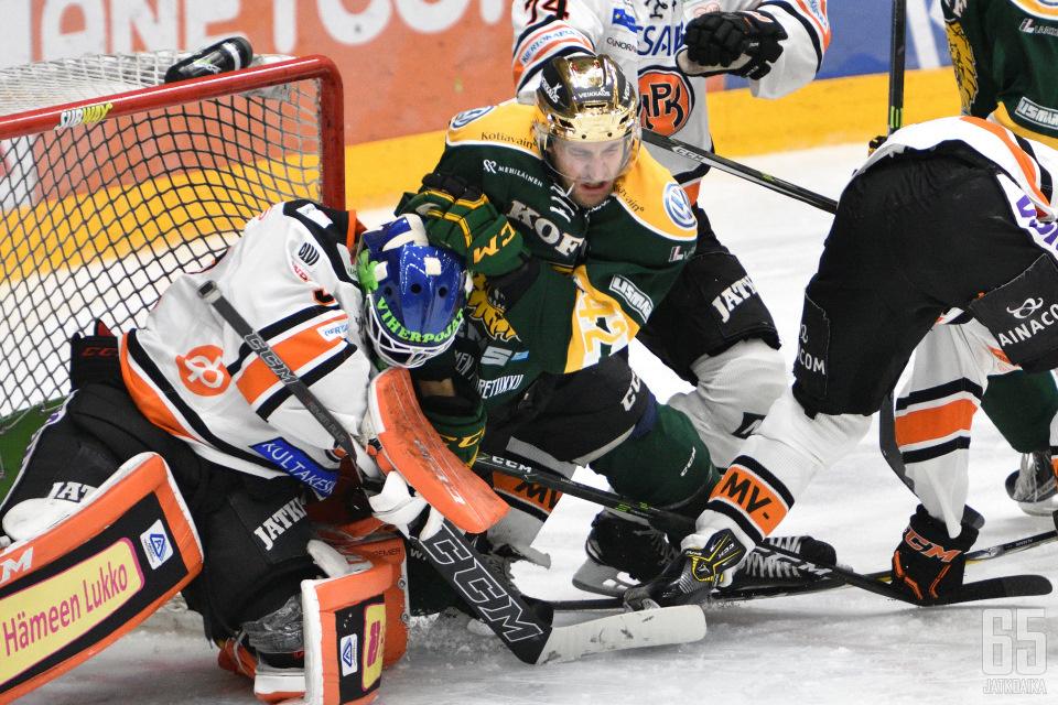 Sami Sandellin kausi päättyi jälleen kahdeksannessa ottelussa.