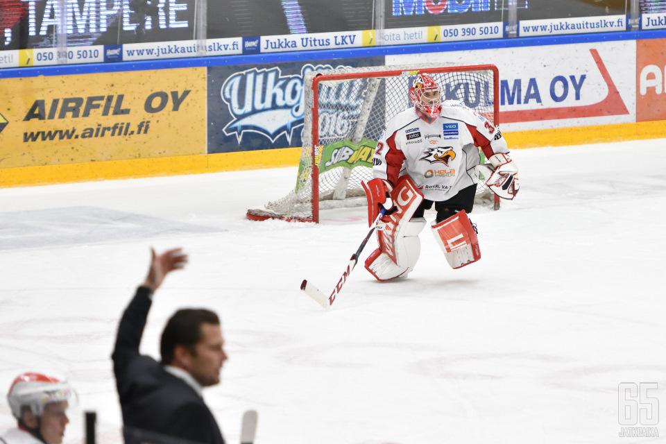 Rinne nähdään viikonloppuna Rovaniemellä, kun RoKi saa vastaansa Hermeksen.