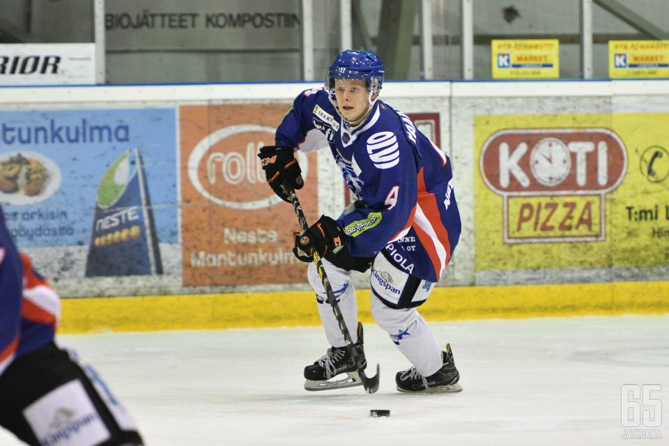 Haaranen kiekkoili viime kaudella LeKissä.