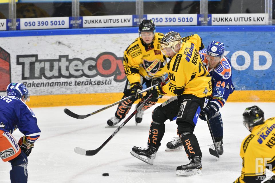 Jaakko Rissanen oli KalPan paras pistemies runkosarjassa.
