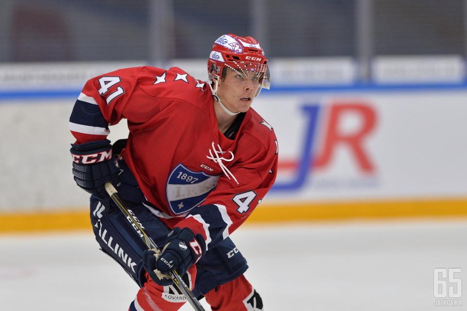 Heiskanen ei ole pystynyt tällä kaudella vielä pelaamaan yhtään Liiga-ottelua.