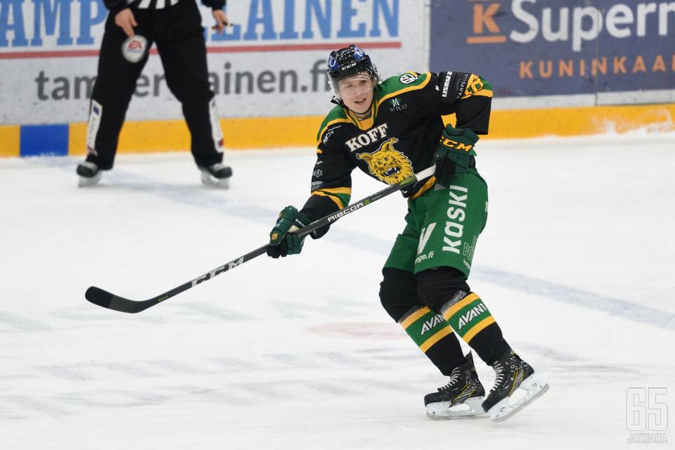 Ville Meskanen palaa puolentoista vuoden tauon jälkeen takaisin Ilveksen riveihin.