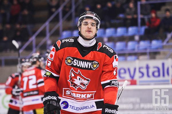 Vitalijs Pavlovs on kuukauden sopimusjoukkueensa mukana.