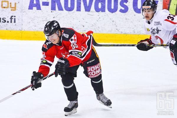 Vili Palola pelasi alkukauden Joensuussa.