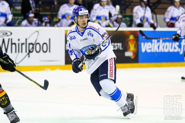 Michael Keränen on debytoinut myös maajoukkueessa, seuraavaksi vuorossa on NHL.