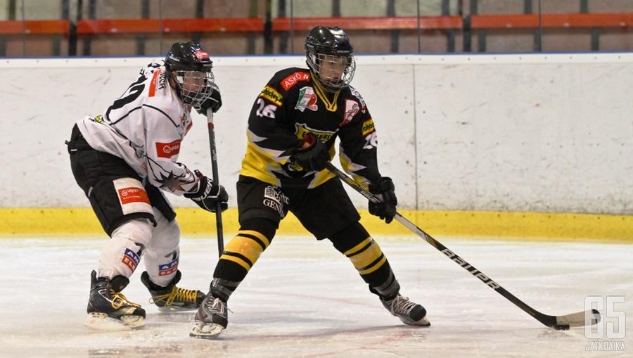 Hovi kävi tänä syksynä tutustumassa itävaltalaiseen jääkiekkoon.