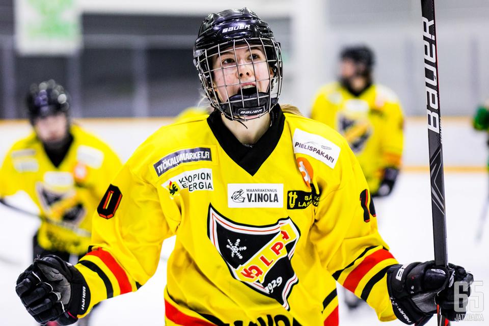 Elisa Holopainen on valmis johdattamaan KalPan finaaleihin.