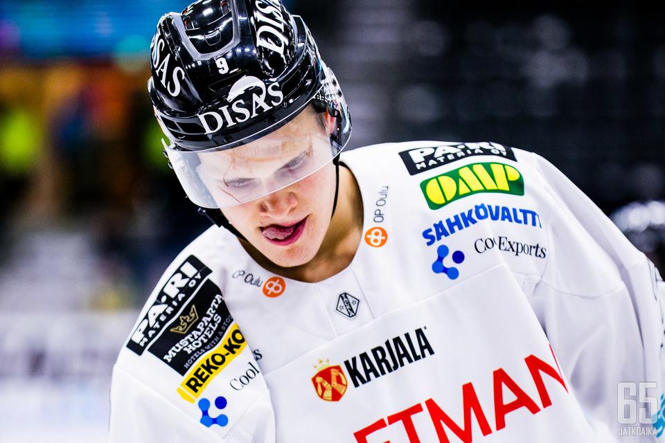 Kuluva kausi Kärpissä on Jesse Puljujärven uran kannalta merkittävä.