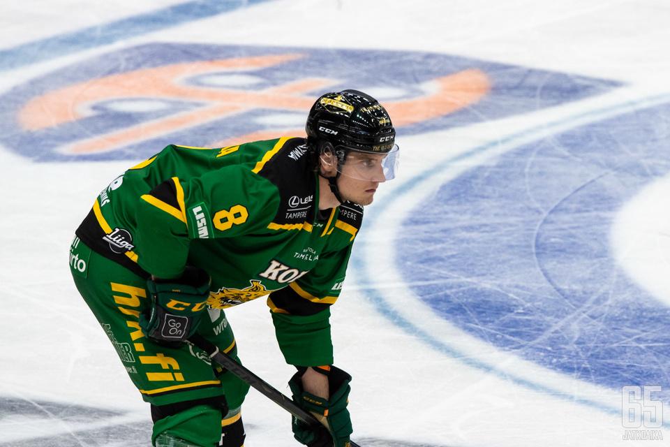 Santeri Hatakka teki ottelun voittomaalin.