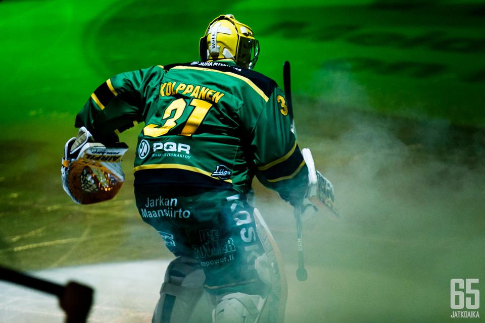 Kuudennen kerran Ilveksen maalinsuulle tällä kaudella luistellut Ville Kolppanen nappasi kauden avausvoittonsa lisäksi ensimmäisen nollapelin Ilveksen paidassa yli viiteen vuoteen.