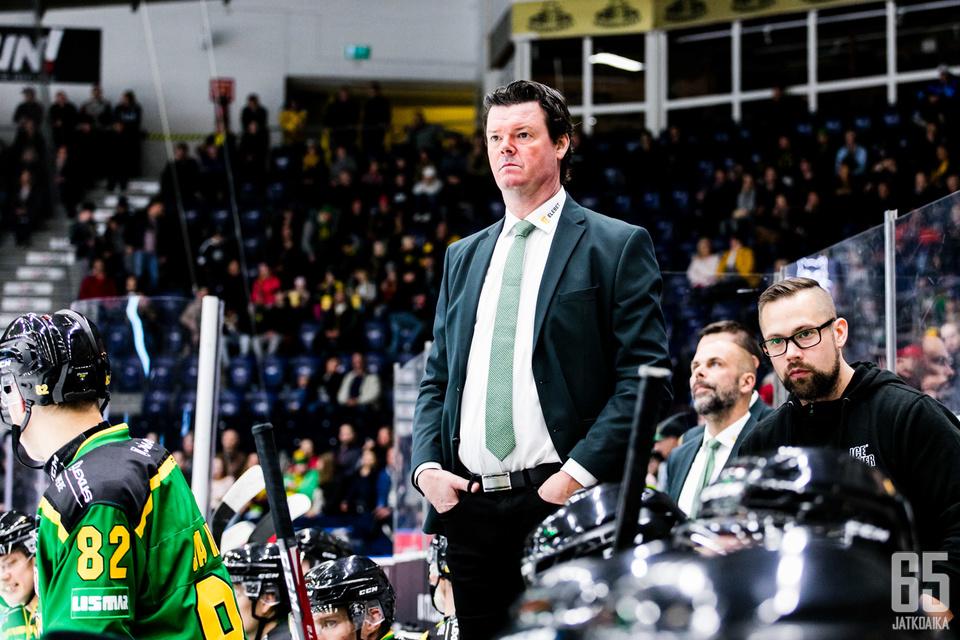 Ilves - TPS, Liigan ottelussa Hakametsän jäähallissa Tampereella 18.9.2019.
