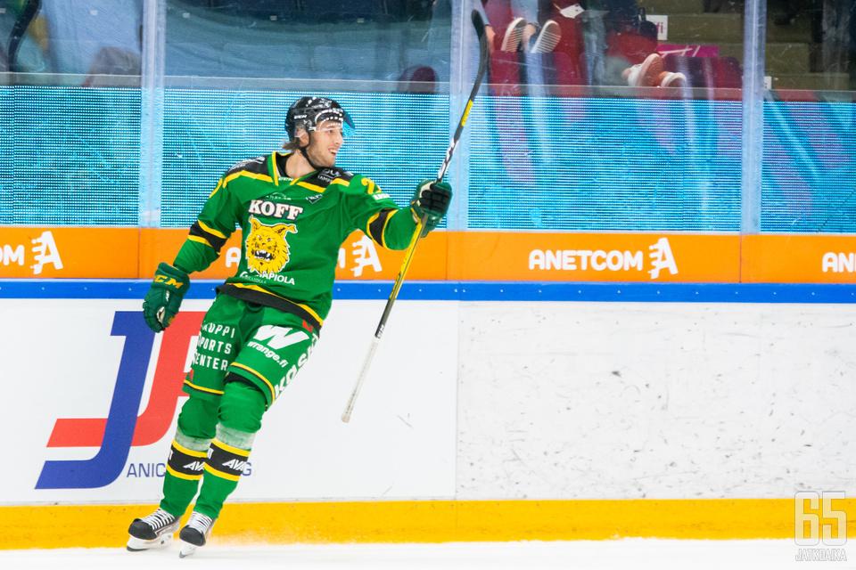 Miro Nalli iski Tampere Cupin finaalissa tehot 1+1.