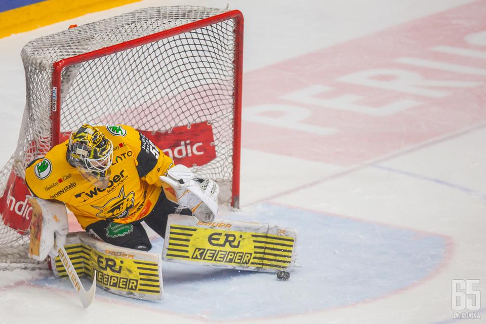 Niclas Westerholm nollasi Jukurit ja takasi SaiPalle täyden pistepotin.