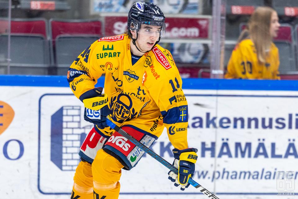Ville Heinola palasi Lukon paitaan Hippoksella.