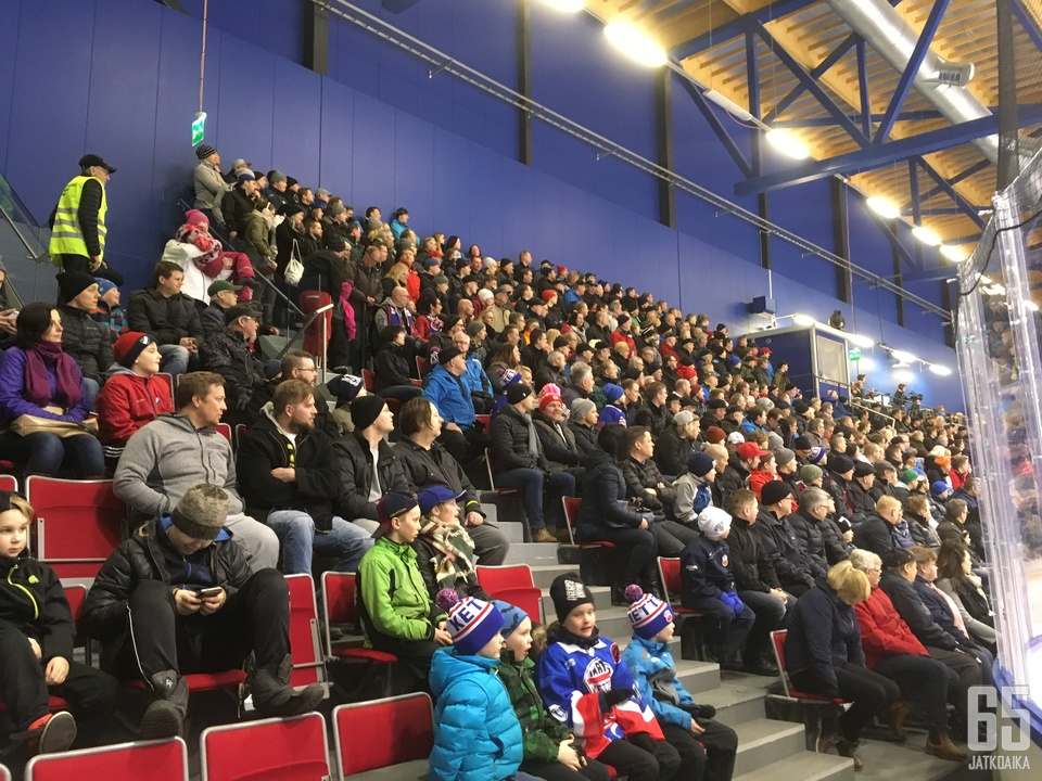 Nuoret Ketterä-kannattajat pääsevät iloitsemaan joukkueen otteista Mestiksessä.