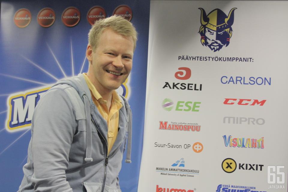 Kerttula on toiminut aiemmin Jukureiden urheilujohtajana.
