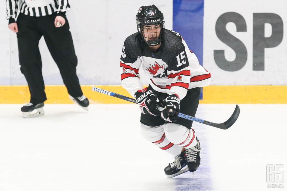 Newhook on ollut Kanadan tehokkaimpia pelaajia MM-kisoissa.