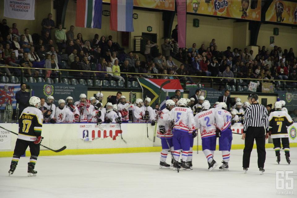 Luxemburg ja Etelä-Afrikka kohtasivat turnauksen viimeisenä päivänä.