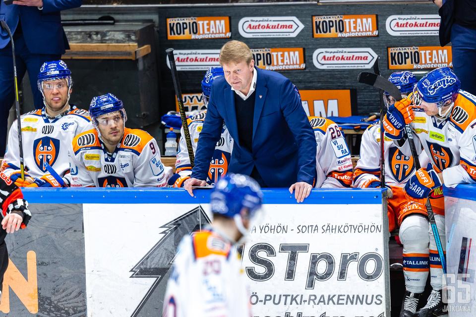 Jukka Rautakorven mielestä hänen joukkueelleen olisi kuulunut täydet kolme pistettä.