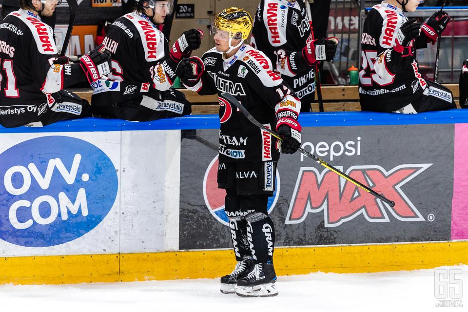 Jani Tuppuraisen maalituuletuksia voidaan nähdä Jyväskylässä myös ensi kaudella.
