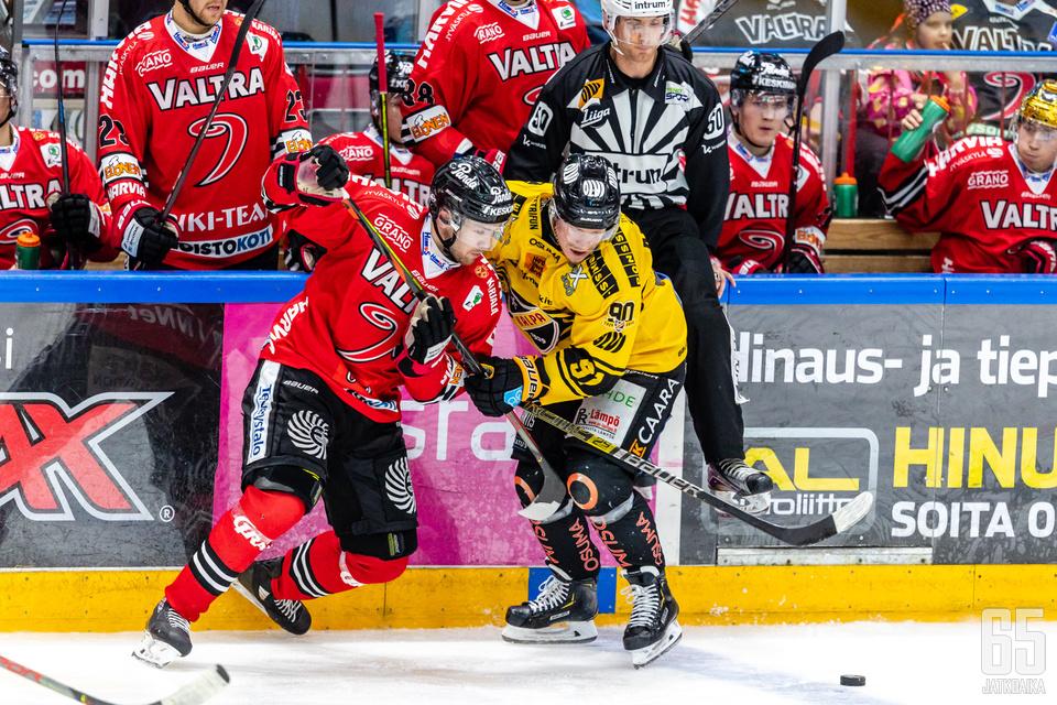 JYP oli nälkäisempi joukkue Järvi-Suomen derbyssä.