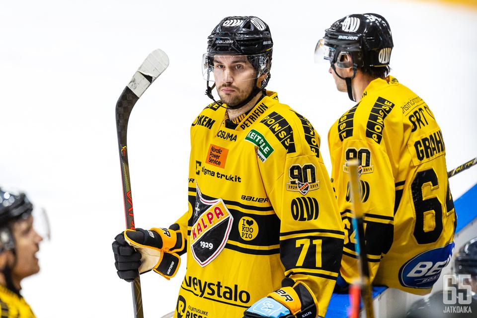 Matti Järvinen pelasi viime kaudella KalPassa.