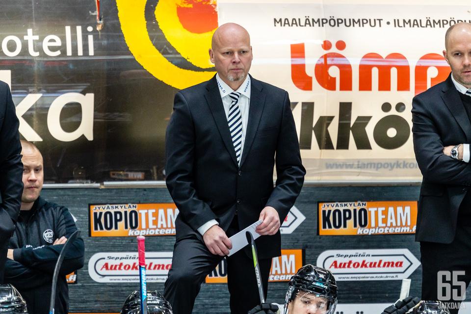 Marko Virtanen palasi Liiga-valmentajaksi puolentoista vuoden tauon jälkeen.