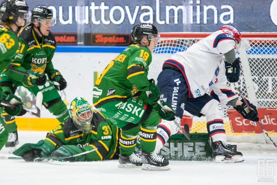 Alkukaudella osumilla mässäilleelle HIFK:lle tyly kohtelu