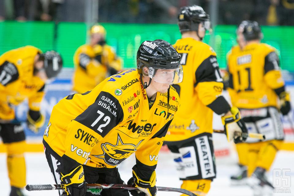 Elmeri Kaksonen on yksi SaiPassa jatkavista pelaajista.