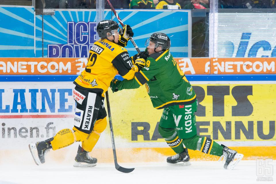 Tampereella ensimmäistä pudotuspeliäottelua saatiin ratkoa jatkoerään asti.