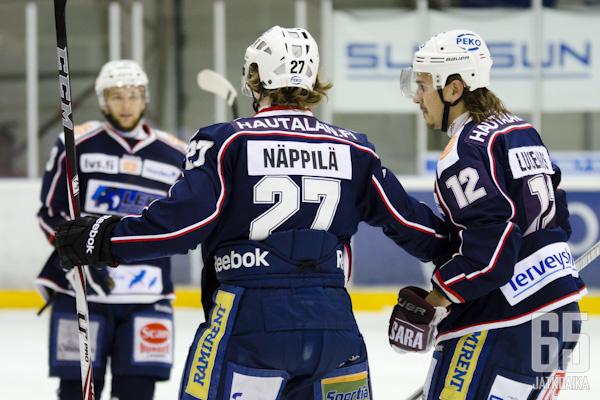 Jarkko Näppilä on ollut kuluvalla kaudella Mestiksen parhaita puolustajia.
