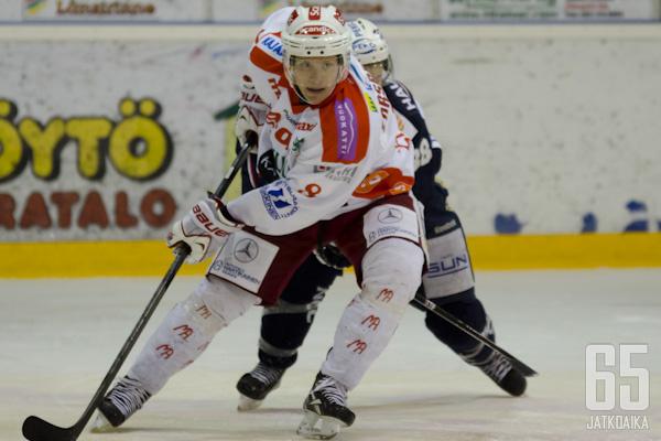 Henrik Forsberg puolusti viime kaudella Kajaanissa.