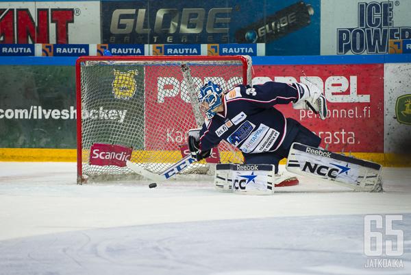 Jarno Laitinen huilaa viikonvaihteen liigaveskarien pelatessa.