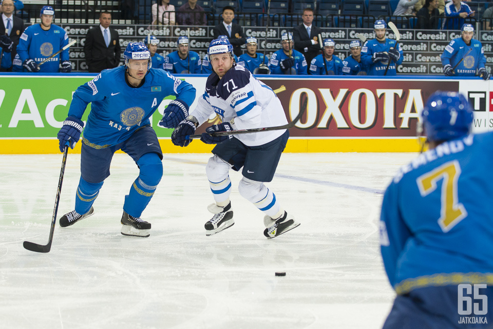 Kazakstan palaa MM-kisojen päätasolle.