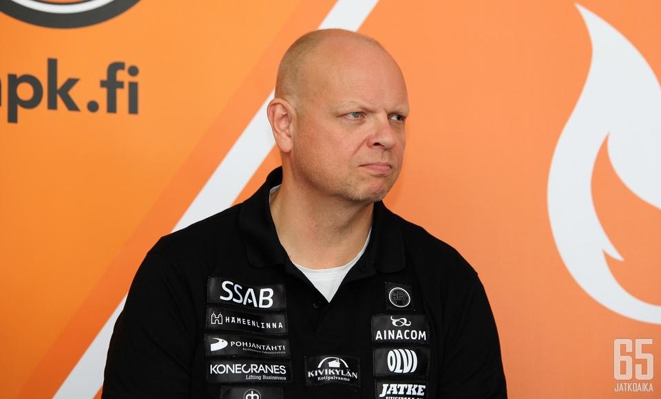 HPK:n valmentaja Timo Turusen mukaan korjausta vaativat asiat on tiedossa.