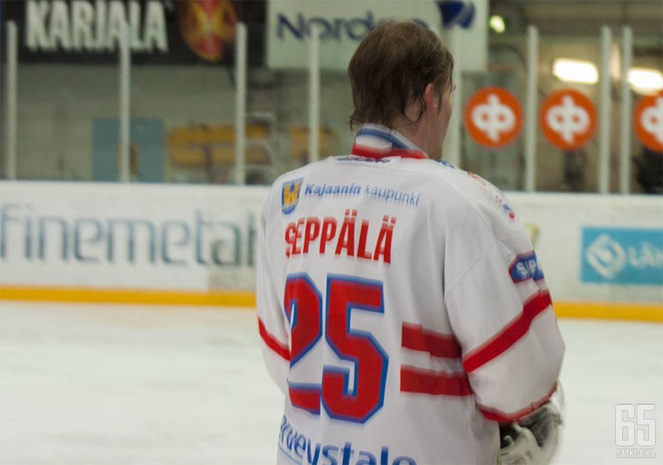 Seppälä toimi viime kaudellakin kajaanilaisten kapteenina.