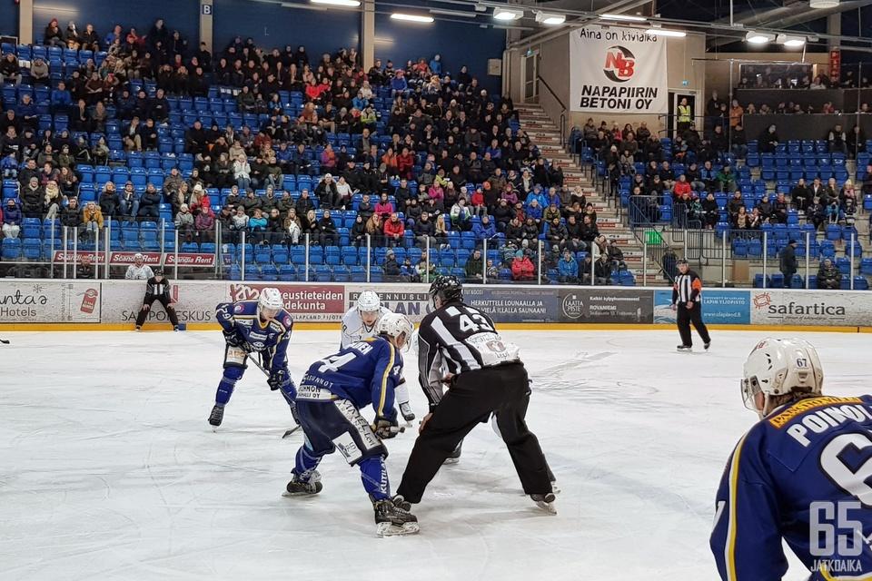 RoKi on vetänyt Rovaniemen jäähalliin toiseksi eniten katsojia Mestis-kaudella 2017-2018.