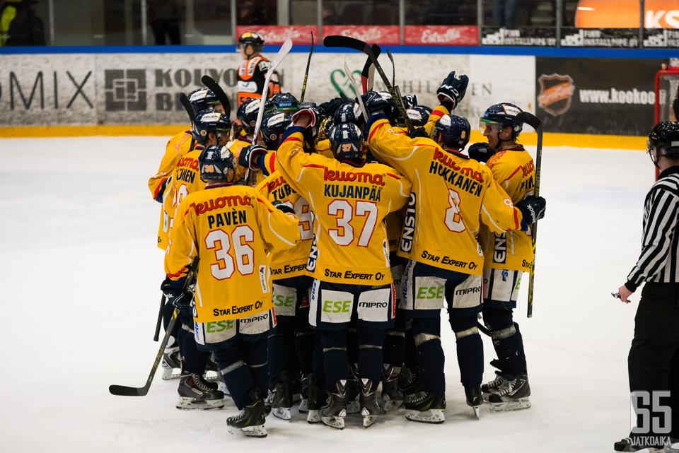 Jukurit nappasi voiton Suomen historian pisimmässä jääkiekko-ottelussa.