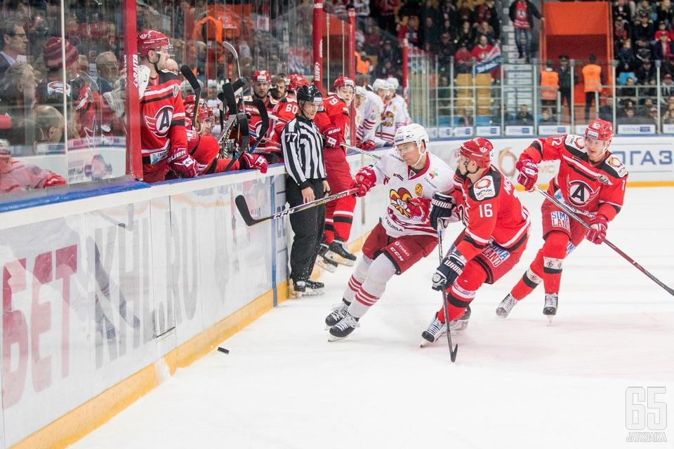 Jokereden voittokulku jatkui Jekaterinburgissa.
