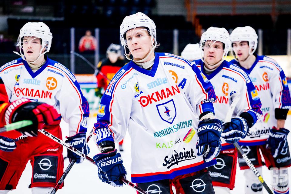 Kajaanin Hokki pelaa kahden kauden tauon jälkeen Mestistä.