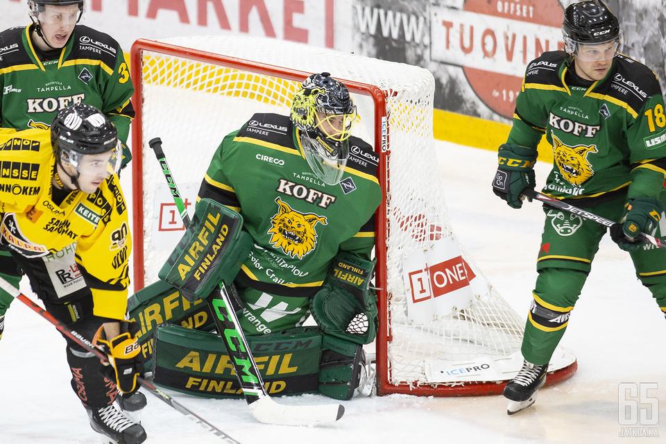 Lukáš Dostál oli Ilveksen voiton takuunimi Kuopion perjantai-illassa.