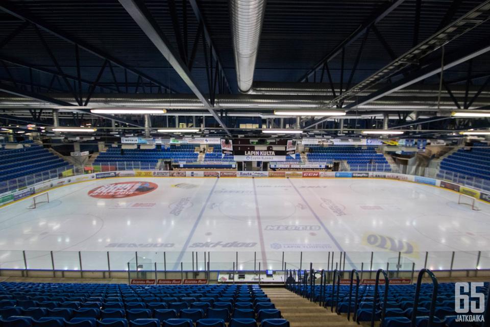 Ensi kaudella Rovaniemellä jäähallin lehtereillä on RoKin otteluissa entistä enemmän väkeä.