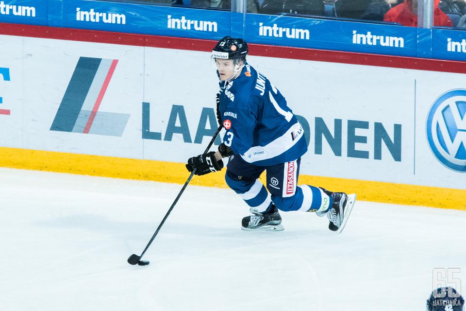 Julius Junttilan turnauksesta odotetaan menestystä.