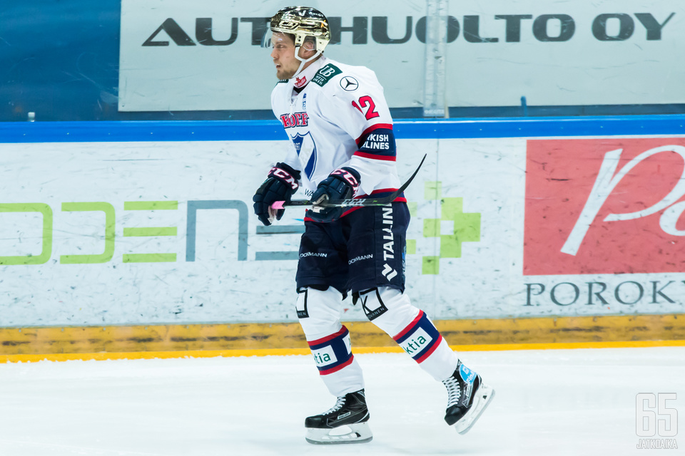 Tyrväinen nosti HIFK:n tasoihin ottelussa.