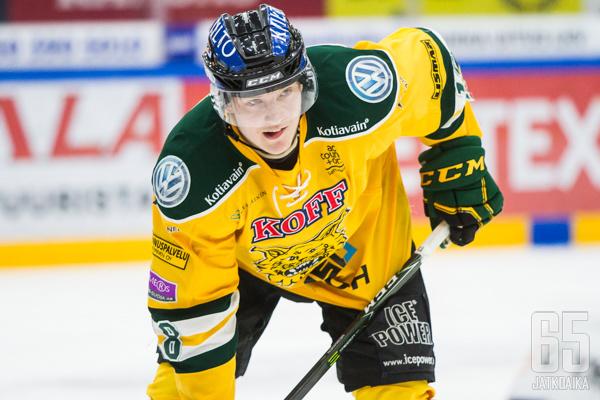 Ville Meskanen teki viime kaudella tehot 9+11.