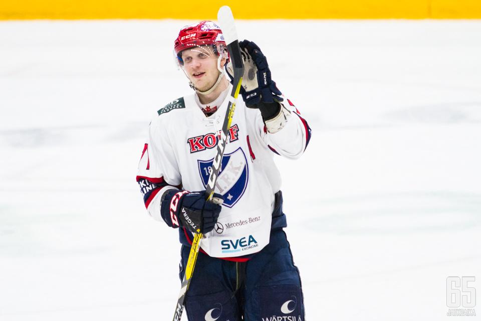 Neljä edellistä kautta Puustinen on pelannut HIFK:ssa.