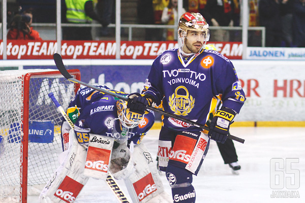 Justin Azevedo ja Petri Vehanen olivat Lukko-bändin suurimpia onnistujia.
